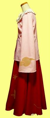 蓬莱山輝夜の衣装の作り方