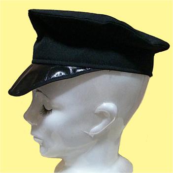 軍帽風帽子