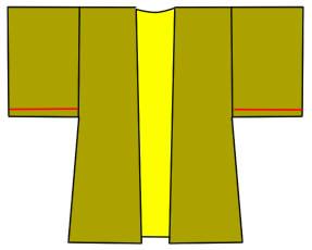 長羽織の袖の縫い方