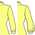 カフスの縫い方
