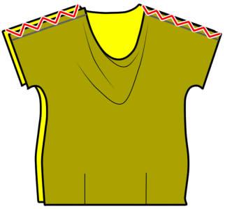 ドレープシャツの縫い方