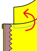 ミニスカートの縫い方