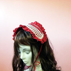 ヘッドドレスの作り方と型紙