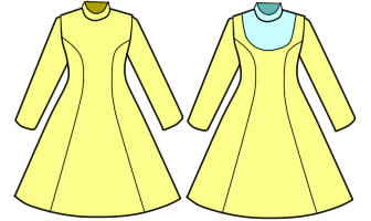 おそ松さん 十四松のメイド服のコスプレ衣装の作り方