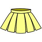 8本ボックスプリーツスカートの作り方