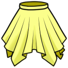 イレギュラースカートの作り方