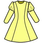 プリンセスラインのワンピースの縫い方