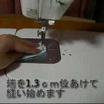 シャツ・チャイナ服の作り方 スタンドカラーの縫い方【動画】