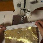 たった2枚の四角い布で作れちゃう、かんたんポーチの縫い方【動画】