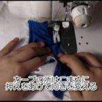 ワンピースやブラウスの作り方 オープンファスナーの縫い方【動画】