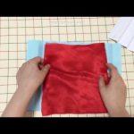 【おさいほう】布に均等にプリーツを入れる方法【動画】