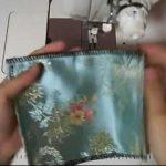 たった1枚の四角い布で作れるポケットティッシュケースの作り方【動画】