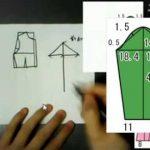 型紙の作り方かこみ製図の書き方 お洋服(ワンピース)の作り方【動画】