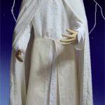 ロングマントの製図(服の設計図)