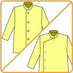 【おさいほう】前をチャイナ服やカンフー着のようにする方法