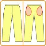 【おさいほう】表から見えない脇の袋ポケットの作り方