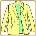 【おさいほう】裏地つきのテーラドカラーの縫い方