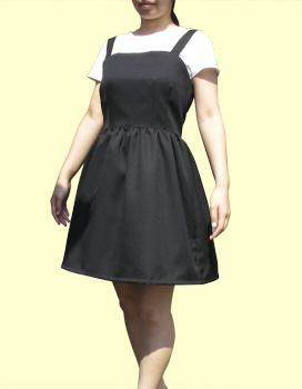 ウエスト切り替えの人パースカート ギャザースカート