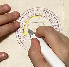 布用ペンの性能について