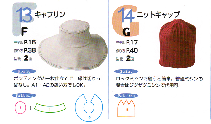 クライムキうふふな帽子2帽子の基礎BOOK