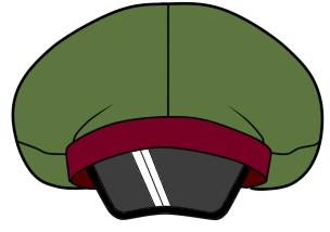軍帽のつくりかた
