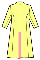 テーラードコートの縫い方