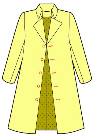 ファンタジーの貴族風コートの作り方