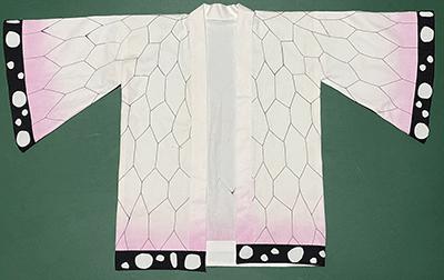 鬼滅の刃の胡蝶しのぶの子供用のコスプレ衣装を作ってみた
