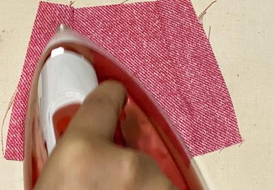 ダーツのへこみ(エクボ)ができないようにきれいに仕上げる方法
