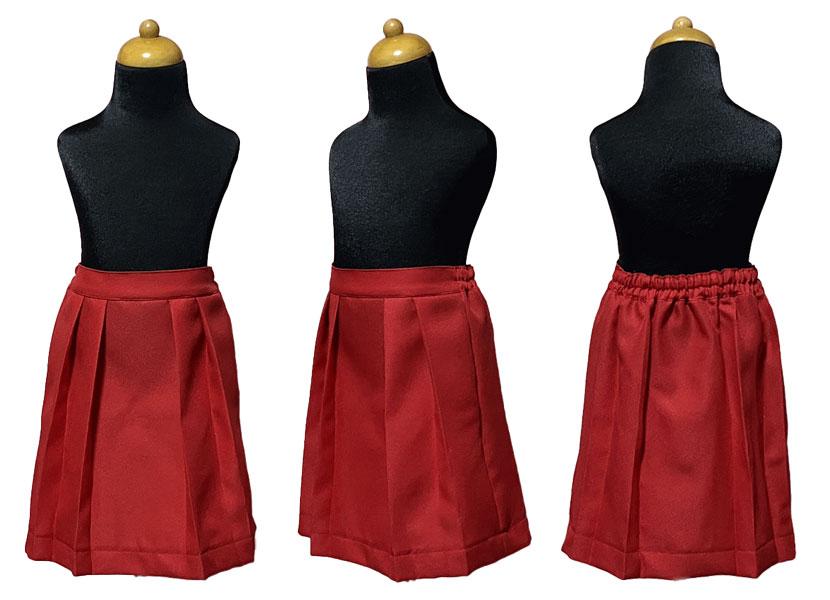 袴スカートの型紙