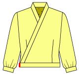 着物えりのジャケットの作り方
