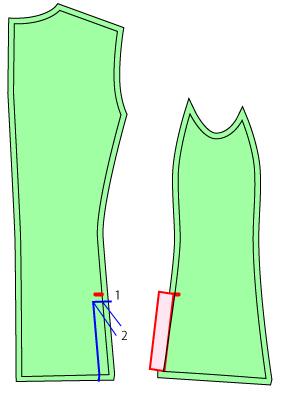 サイドベンツに改造する方法