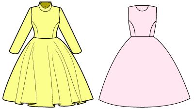 洋服を作る前にデザイン画を書こう