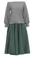 洋服の服の色の参考組み合わせ