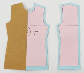 かこみ製図の書き方 型紙の作り方