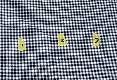 縫い間違いが減る型紙に貼るテープについて