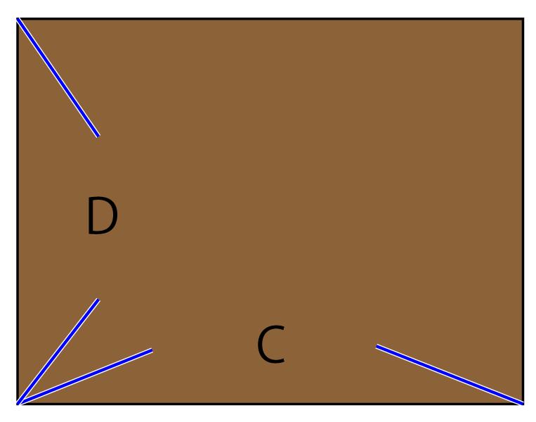 トートバッグの作り方 裁断