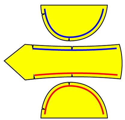 バンダナキャップの作り方。無料の型紙つき
