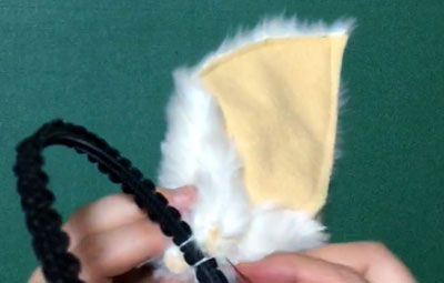 ハロウィンやコスプレにうさぎ耳の作り方