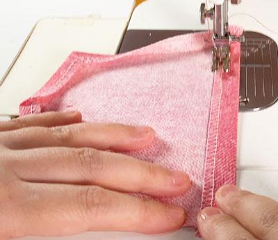 プロの洋裁の先生が教えるパッチポケットの縫い方