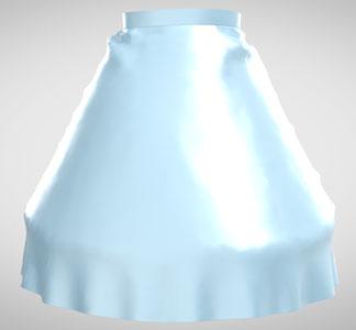 ドレープスカートの作り方