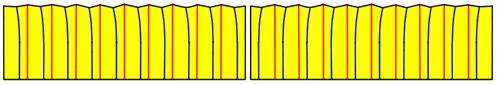 ヒダの折り方。お裁縫のコツ