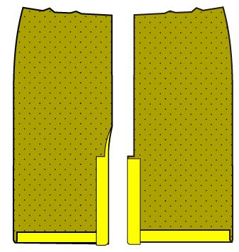ロングタイトスカートの作り方(縫い方)