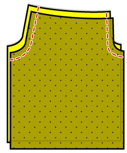 ウエストゴムのワイドパンツの作り方