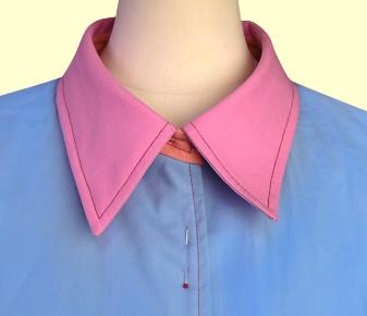 シャツカラーの縫い方