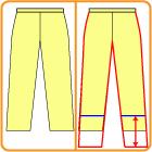 ズボンの改造の仕方