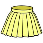 ボックスプリーツスカートの作り方