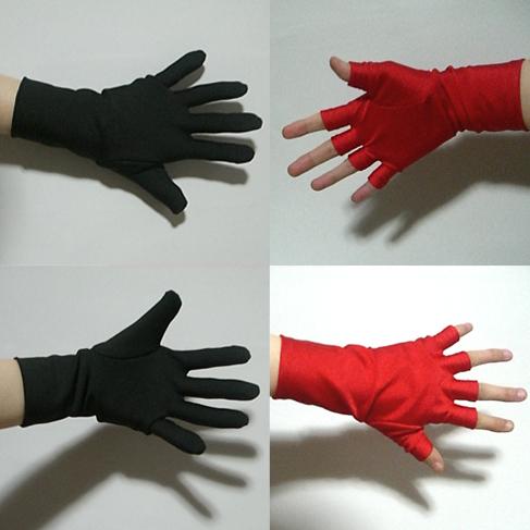 手袋の型紙