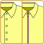 【おさいほう】前ボタンの服をフロントジッパーにする改造の仕方