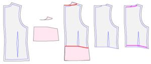 ポムフィオーレ学生服のベストの改造方法